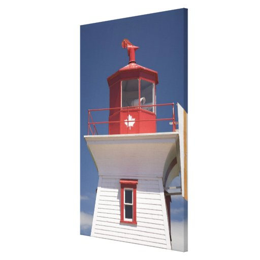Canada, Prince Edward Island, Victoria. Gallery Wrapped Canvas