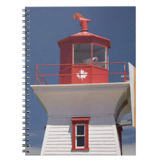 Canada, Prince Edward Island, Victoria. Spiral Note Book