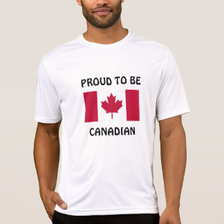 Canada: Proud to be Canadian T-Shirt