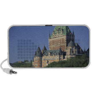 Canada, Quebec City.  Chateau Frontenac. iPhone Speaker