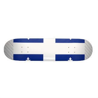 Canada Quebec Flag Custom Skateboard