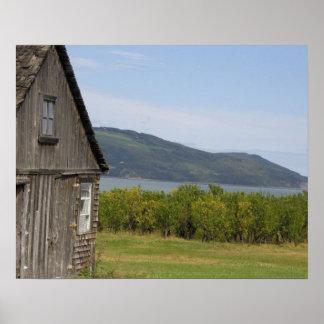 Canada,  Quebec,  L'isle-aux-Coudres, Poster