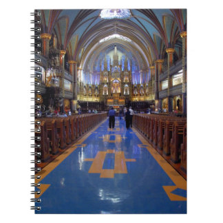Canada,  Quebec,  Montreal. Interior of Notre 3 Note Books