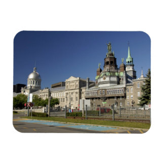 Canada,  Quebec,  Montreal. Old Montreal Rectangular Photo Magnet