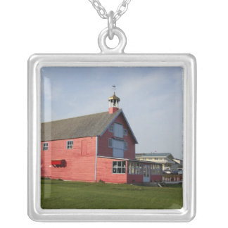Canada,  Quebec,  Perce. IMAGE RESTRICTED: Not Square Pendant Necklace