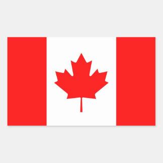 CANADA RECTANGULAR STICKER