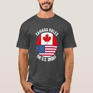 Canada Rules The U.S. Drools T-Shirt