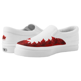 Canada Shoes Canada Slip On Shoes Customized Printed Shoes