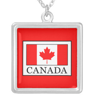 Canada Silver Plated Necklace
