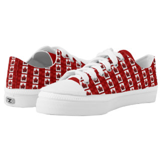 Canada Sneakers Canada Flag Canvas Running Shoes