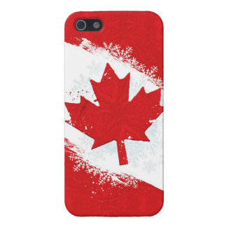 Canada Snowflake iPhone 5/5S Covers