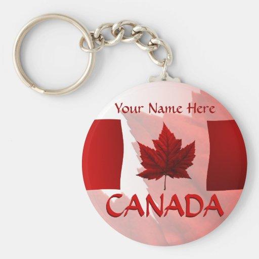 Canada Souvenir Key Chains Canada Flag Key Chain