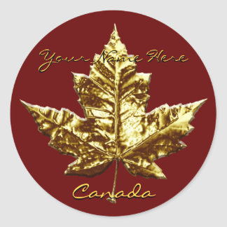Canada Souvenir Stickers Gold Medal Canada Sticker