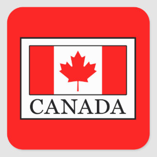 Canada Square Sticker