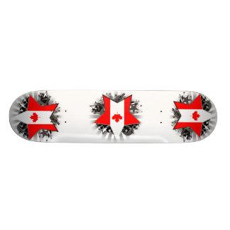 Canada Star Skateboard Decks