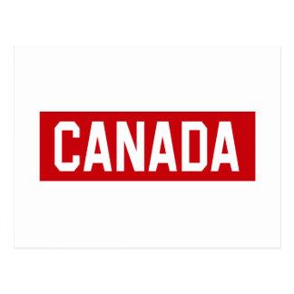 Canada Stencil Postcard