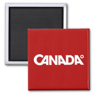 Canada Styled Square Magnet