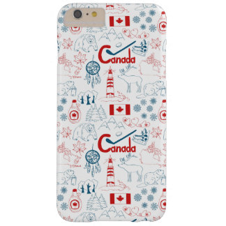 Canada | Symbols Pattern Barely There iPhone 6 Plus Case