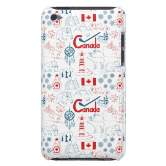 Canada | Symbols Pattern Barely There iPod Covers