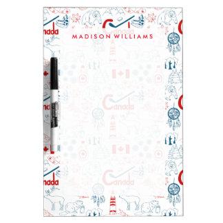 Canada | Symbols Pattern Dry-Erase Whiteboards