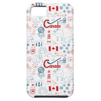 Canada   Symbols Pattern iPhone 5 Cases