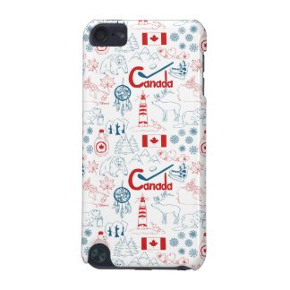 Canada | Symbols Pattern iPod Touch (5th Generation) Cover
