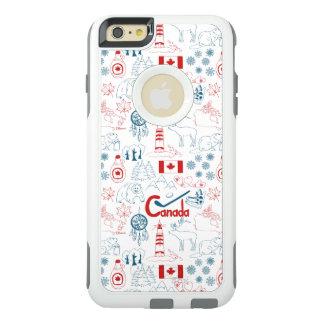 Canada | Symbols Pattern OtterBox iPhone 6/6s Plus Case