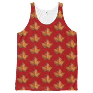 Canada Tank Top Shirt Canada Maple Leaf Shirts