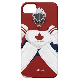 Canada Team Hockey Goalie Case For The iPhone 5