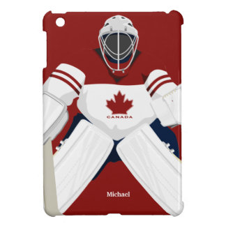 Canada Team Hockey Goalie  iPad Mini Case