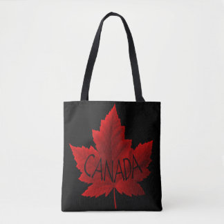 Canada Tote Bags Red Maple Leaf Souvenir Bags
