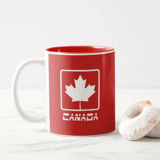 Canada Two-Tone Coffee Mug