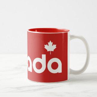 Canada Two-Tone Coffee Mug