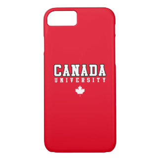 Canada University iPhone 7 Case