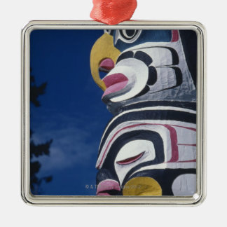 Canada, Vancouver, Stanley Park, totem pole, Metal Ornament