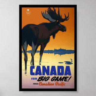 Canada Vintage Travel Poster