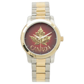 Canada Watch Gold Canada Souvenir Wrist Watches