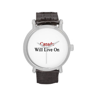 Canada Will Live On Wristwatches