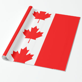 Canada Wrapping Paper