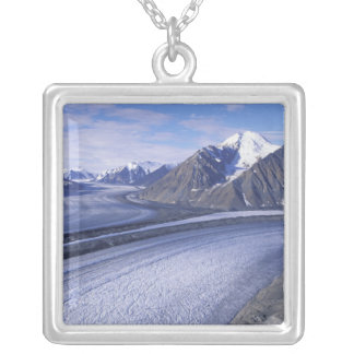 Canada, Yukon Territory, Kluane National Park. Square Pendant Necklace