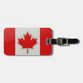Canadain Flag - luggage tag