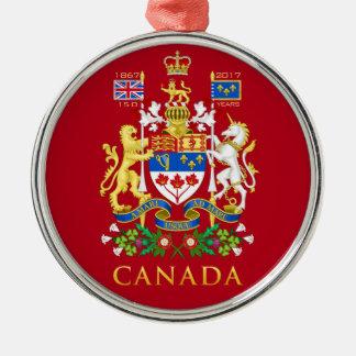 Canada's 150th Birthday Celebration Commemorative Metal Ornament