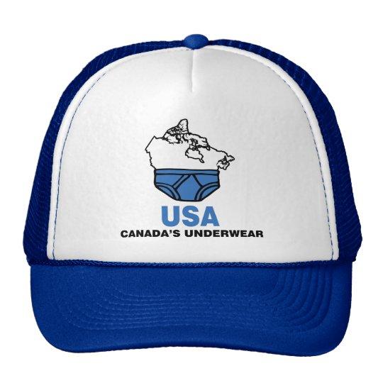 Canada's Underwear Cap