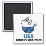 Canada's Underwear Fridge Magnet
