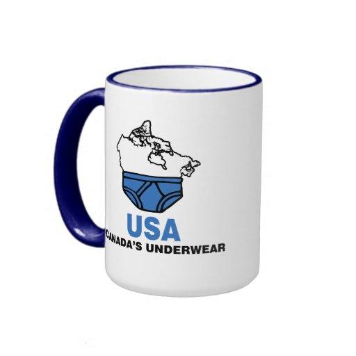 Canada's Underwear Ringer Mug