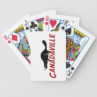 Canadaville Beaver Poker Deck