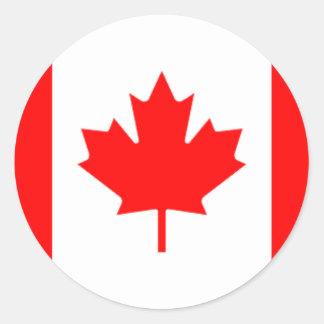 Canadia Classic Round Sticker