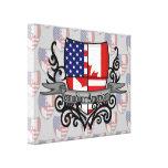 Canadian-American Shield Flag