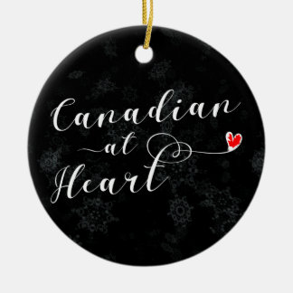 Canadian At Heart, Christmas Tree Ornament