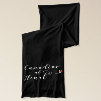 Canadian At Heart Scarf, Canada Scarf